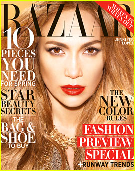 Jennifer Lopez Covers 'Harper's Bazaar' February 2013