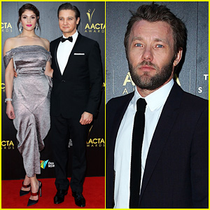 Jeremy Renner & Gemma Arterton: AACTA Awards Attendees!