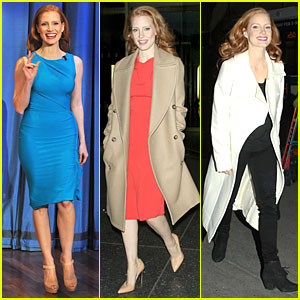 Jessica Chastain: 'Mama' Promotion on 'Today Show' - Watch Now!
