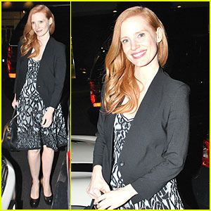 Jessica Chastain: Mr. Chow Dinner!