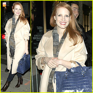 Jessica Chastain: Post Golden Globe Win 'Heiress' Performance!