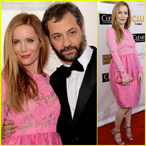 Leslie Mann &amp; Judd Apatow - Critics&#8217; Choice Awards 2013