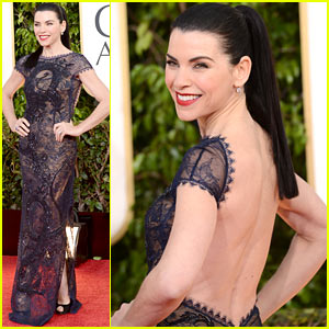 Julianna Marguiles - Golden Globes 2013 Red Carpet