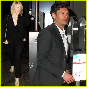 Julianne Hough & Ryan Seacrest: Date Night!