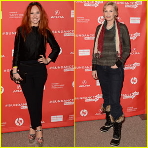 Juno Temple &#038; Jane Lynch: 'Afternoon Delight' Sundance Premiere