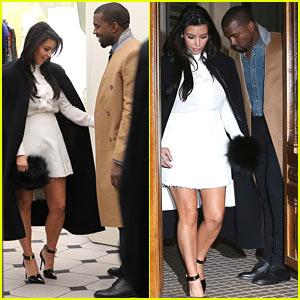 Kanye West & Kim Kardashian: Balenciaga Shoppers
