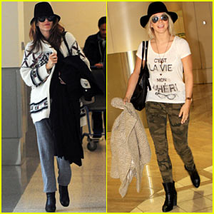 Kate Walsh & Julianne Hough: LAX Ladies!