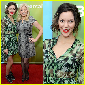 Katharine McPhee & Megan Hilty: 'Smash' TCA Tour!