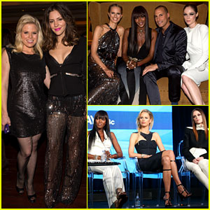 Katharine McPhee & Megan Hilty: NBC's TCA Tour Party!