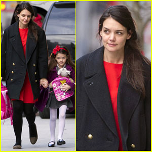 Katie Holmes & Suri: Thursday Morning Twosome!