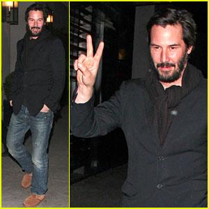 Keanu Reeves Girlfriend 2013