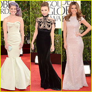 Kelly Osbourne & Giuliana Rancic - Golden Globes 2013 Red Carpet