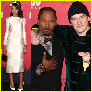 Kerry Washington & Jamie Foxx: 'Django' Berlin Photo Call!