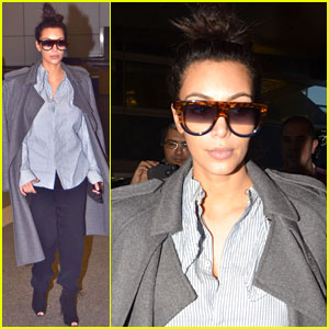 Kim Kardashian: Back From Paris!