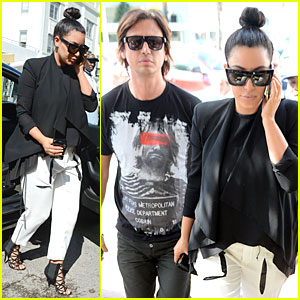 Kim Kardashian: Lunch &#038; Shopping with Jonathan Cheban!