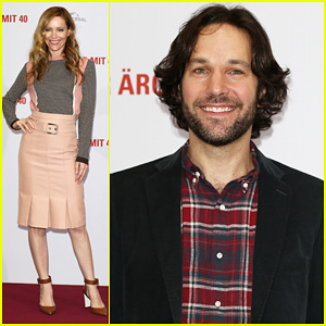 Leslie Mann & Paul Rudd: 'This Is 40' Berlin Photo Call!
