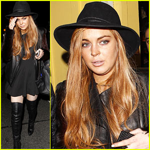 Lindsay Lohan Dines with Lawyer, Gets New Baby Sibling
