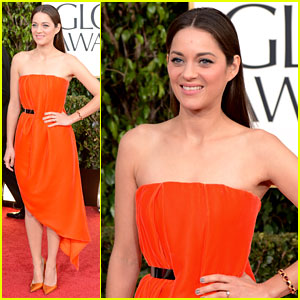 Marion Cotillard - Golden Globes 2013 Red Carpet