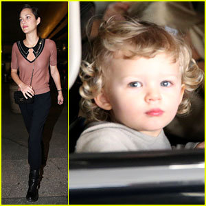 Marion Cotillard: Los Angeles Landing with Marcel!