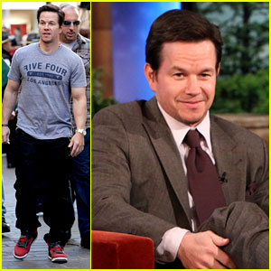 Mark Wahlberg: 'Ellen' & 'Extra' Appearances!