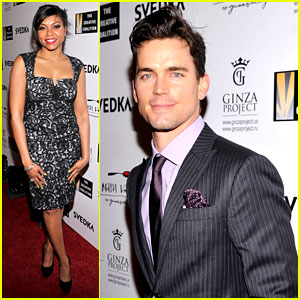 Matt Bomer: Creative Coalition's Night Before Dinner!