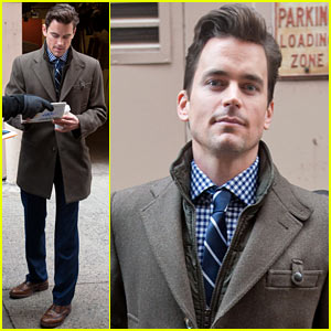 Matt Bomer Launches 'White Collar' Inspired Clothing Collection