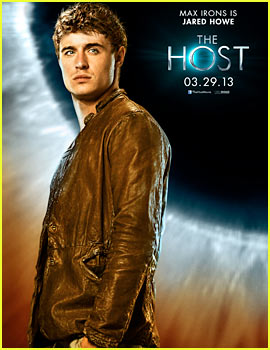 Max Irons: New 'The Host' Character Poster - Exclusive!