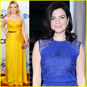Melissa Rauch & Casey Wilson - People's Choice Awards 2013