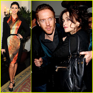 Morena Baccarin & Damian Lewis: 'W' Magazine's Pre-Golden Globes Party!