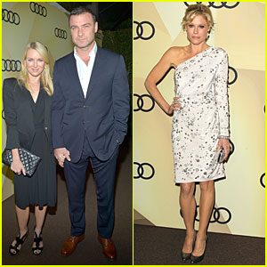 Naomi Watts & Liev Schreiber: Golden Globes Kick Off Cocktail Party!