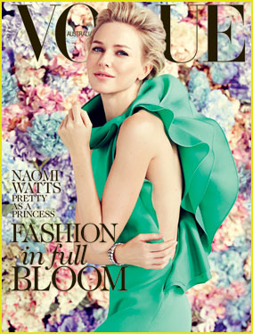 Naomi Watts Covers 'Vogue Australia' February 2013