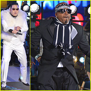 Psy & MC Hammer: 'Dick Clark's New Year's Rockin' Eve with Ryan Seacrest' Duo!