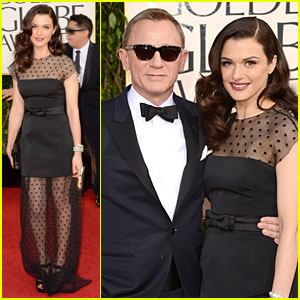 Rachel Weisz & Daniel Craig - Golden Globes 2013 Red Carpet