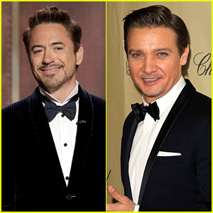 Robert Downey, Jr. & J