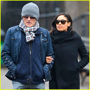 Rosario Dawson & Danny Boyle: Big Apple Lovers!