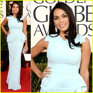 Rosario Dawson - Golden Globes 2013 Red Carpet