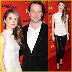 Keri Russell & Matthew Rhys Premiere 'The Americans'
