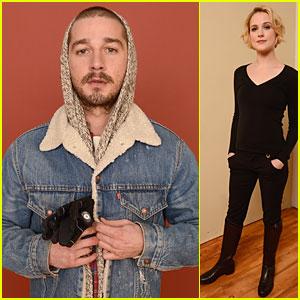 Shia LaBeouf & Evan Rachel Wood: 'Charlie Countryman' Sundance Portrait Session!