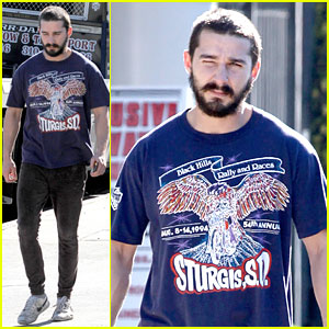 Shia LaBeouf: Sturgis Motorcycle Rally Supporter!