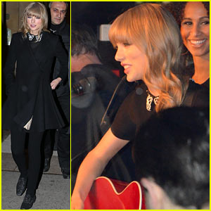 Taylor Swift: Paris Yacht Performance!