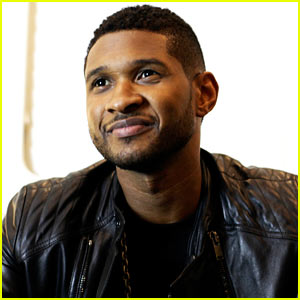 Usher: Mercedes-Benz Super Bowl Commercial - Exclusive Pics!