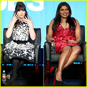Zooey Deschanel & Mindy Kaling: 'New Girl' & 'Mindy Project' Panels!