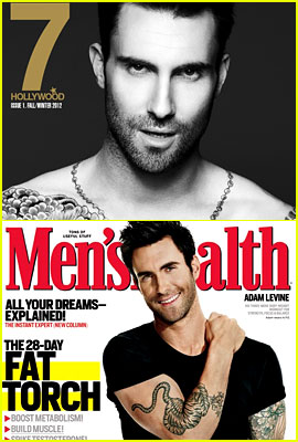 Adam Levine Covers '7 Hollywood' & 'Men's Health'