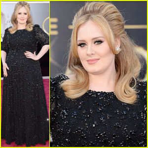 Adele - Oscars 2013 Red Carpet