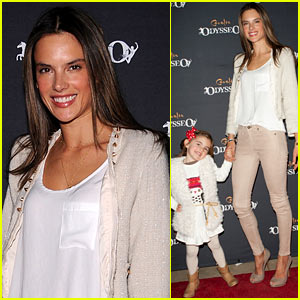 Alessandra Ambrosio: 'Odysseo' Opening with Anja!