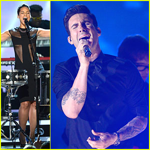 Alicia Keys & Maroon 5: Grammys 2013 Performance - WATCH NOW!