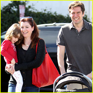 Alyson Hannigan & Alexis Denisof: Saturday Fun with the Kids!