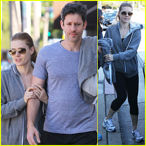 Amy Adams &#038; Darren Le Gallo: WeHo Workout Twosome!