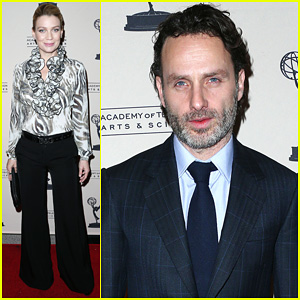 Andrew Lincoln & Laurie Holden: 'The Walking Dead' PaleyFest!