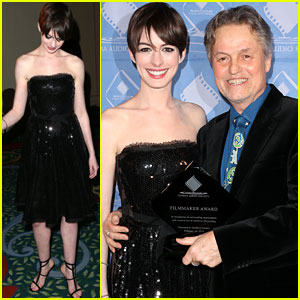 Anne Hathaway: Cinema Audio Society Awards 2013